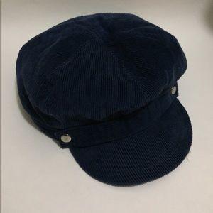 Accessories - Blue Curduroy hat